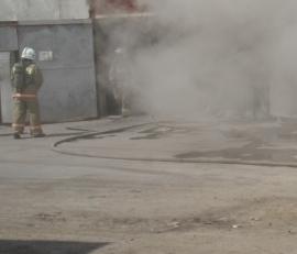 В Знаменском районе сгорело 3 тонны семечек