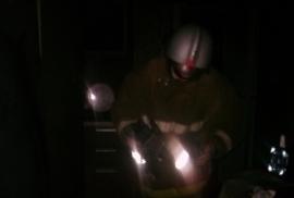 В огне пострадал частный дом на тамбовских Полынках