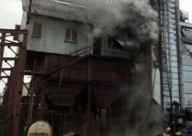 В Мичуринском районе 30 тонн семян подсолнечника погибло в огне