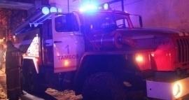«Ауди А 8» сгорела в Тамбове на улице Кронштадтской