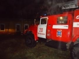 Любители попариться из Жердевского района лишились бани при пожаре