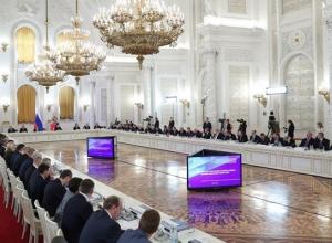 Президент отметил Тамбовщину на Госсовете
