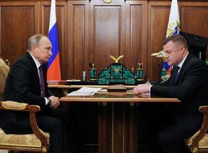 Александр Никитин поздравил Владимира Путина с победой