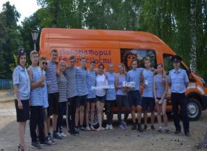 Лагеря Тамбовщины — детям: в «Юности» прошла военно-патриотическая игра