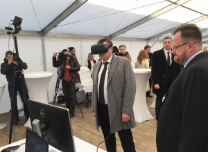 Александру Никитину показали уваровский завод будущего через очки дополненной виртуальной реальности