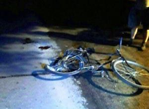 Автолюбительница сбила велолюбителя в Знаменке