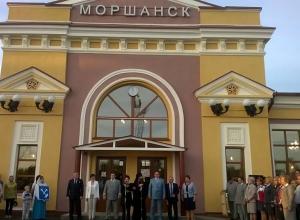 Обновленное здание ж/д вокзала открыли в Моршанске