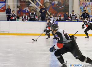 Победу над орским «Южным Уралом» одержали тамбовские хоккеисты