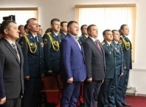 Губернатор поздравил тамбовских спасателей
