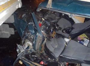 В результате лобового столкновения погиб водитель «семерки»  из Тамбова