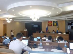 Дмитрий Самородин - зам мэра Тамбова отчитался о работе местной администрации за прошлый год