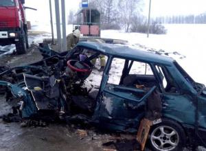 Жесткая авария в Рассказовском районе чудом обошлась без жертв