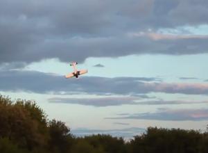 Летчик упавшего самолета погиб