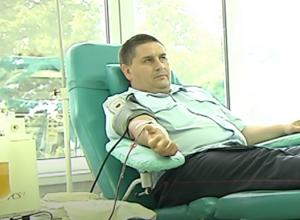 Полицейские отдали  свою кровь: донорская акция прошла в Тамбове