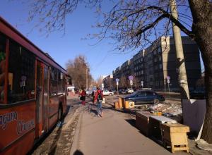 Работу незаконного рынка на Куйбышева провоцируют сами жители