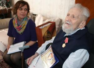 104-й день рождения отметил Юлий Ксюнин – ветеран подводник из Тамбова