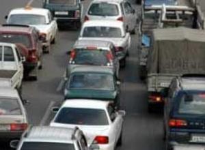 Пробки на въезде в Тамбов обеспечены