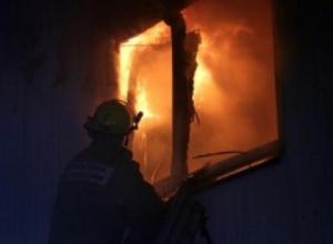 В Рассказовском районе в сгоревшем доме пострадал человек