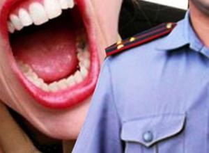 Цыганские страсти по–заворонежски: за  насилие в отношении полицейского перед судом предстанет местная жительница