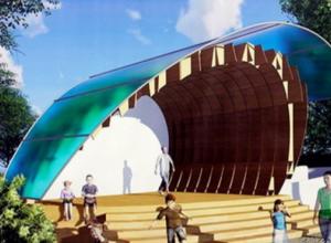 Первокурсница ТГТУ разработала проект, по которому построят новую сцену в парке культуры