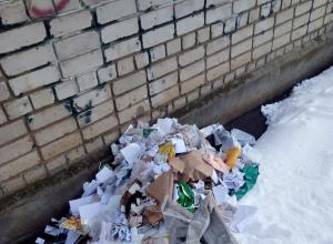 «Вот так и жили: губы красили, а шею не мыли». За угол выбрасывают мусор на севере Тамбова.