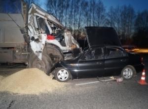 Жуткая авария на трассе «Воронеж-Тамбов» в Знаменском районе унесла жизни двоих тамбовчан
