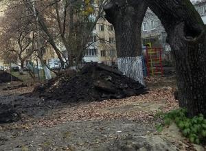 300 ям остаются не закопанными в Тамбове после ремонта теплосетей