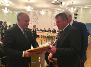 На региональном госсовете губернатор наградил лучшие муниципалитеты Тамбовщины