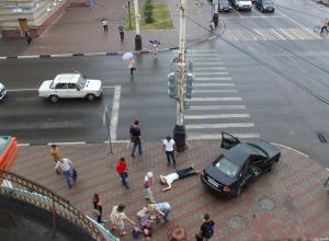 Один из самых аварийных перекрестков Тамбова снова принес жертвы