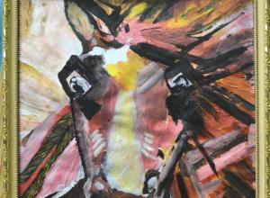 «Ошеломляющее счастье» тринадцатилетнего тамбовского художника выставлено в Третьяковке