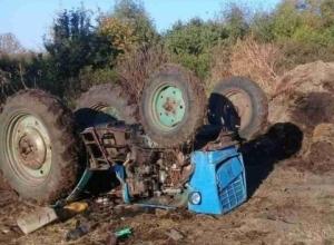 Тракторист погиб под собственной машиной