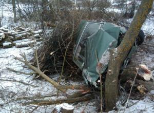Дама не удержала «Волгу» на дороге и оказалась в кювете: водитель в норме, а пассажир пострадал