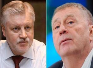 Сергей Миронов и Владимир Жириновский отказались от своих мандатов в Тамбовской областной Думе
