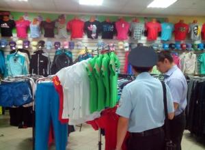 40 контрафактных спортивных товаров изъято в Рассказово