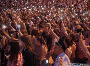 Билеты на рок-фестиваль и встреча со звездой - в Тамбове отметили «время молодых»