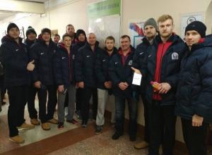 БК «Тамбов» полным составом проголосовал на выборах президента России