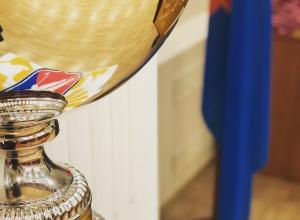 Игроки и администраторы ХК «Тамбов» получили золотые медали ВХЛ и переходящий кубок. Ждать ли повышения?
