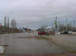 Видео жуткого ДТП под Строителем появилось в сети