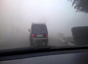 Осторожнее на дорогах: над городом сильный туман, - МЧС России
