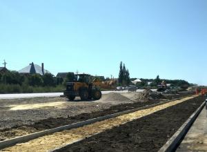 Новейшие технологии используют при строительстве дорог на севере Тамбова
