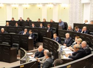 «И кто тут не выучил, двоечник?» Депутатам Тамбовской облдумы выставили политические «пятерки» и «неуды».