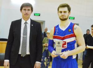 Баскетбольный клуб «Тамбов» покинул лёгкий нападающий Руслан Туманов
