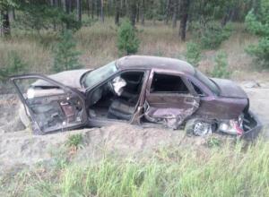 Обгон  автоледи из Рассказовского района закончился неприятным ДТП