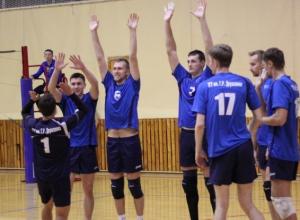 Финал чемпионата ЦФО по волейболу пройдет в Тамбове. РАСПИСАНИЕ ИГР