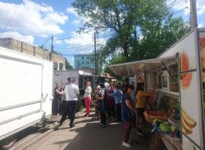 Стихийных рынков в Тамбове становится меньше