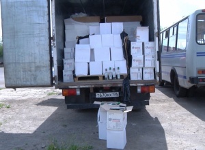 Почти 8000 бутылок контрафакта изъял у воронежца тамбовский УБЭП