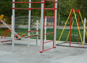 В селах Серединовского сельсовета дети сыграют на новых площадках