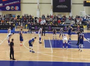 Баскетбольный матч-сенсация прошел на новой тамбовской арене