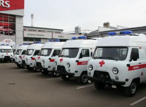 10 новеньких «скорых» получат тамбовские больницы