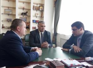 4-х кратный Олимпийский чемпион Александр Попов встретился с первым вице-губернатором